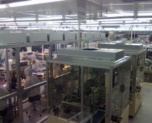 百级钢化玻璃板洁净棚