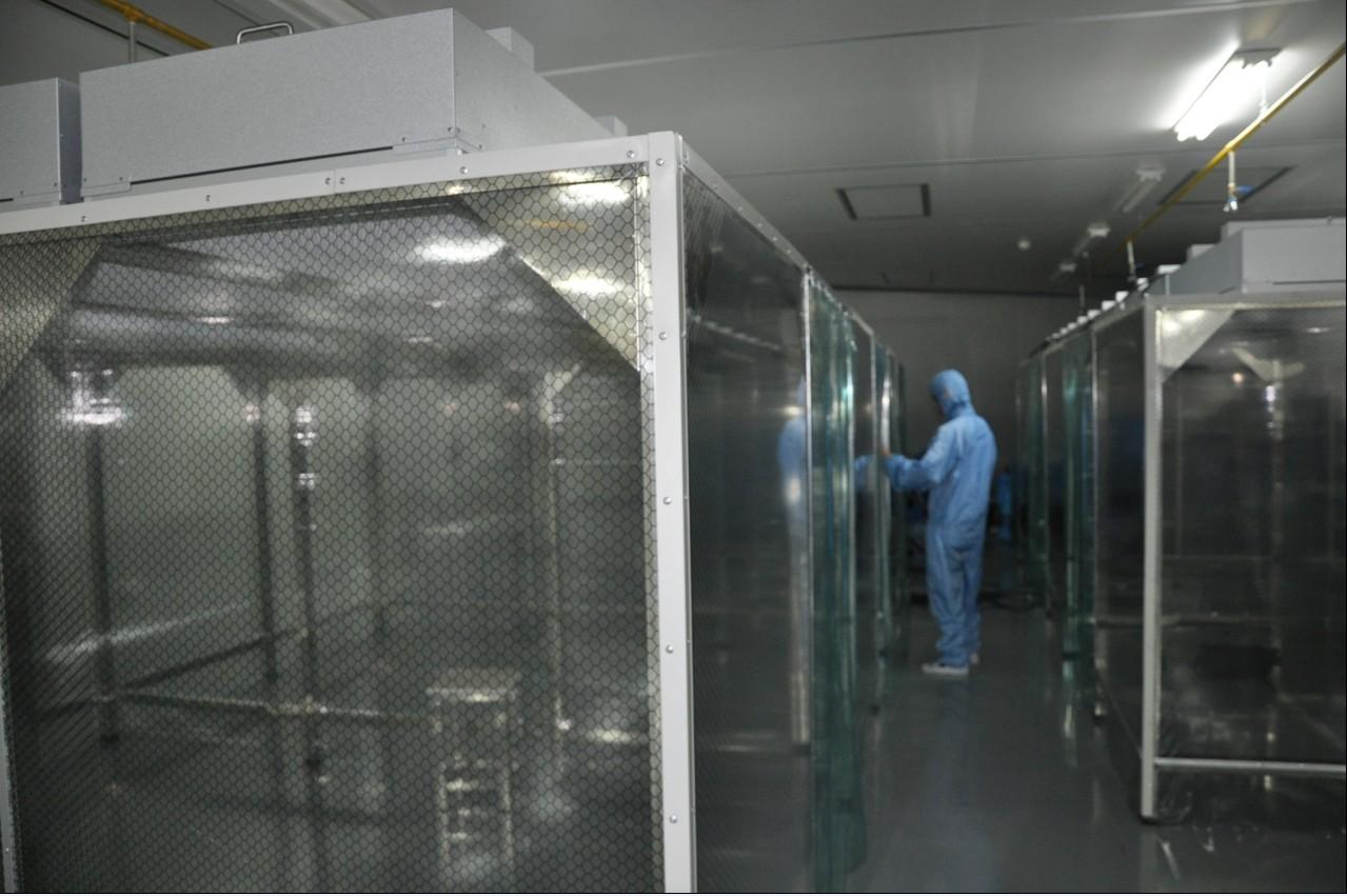 重庆日永光学-净化棚合作成功