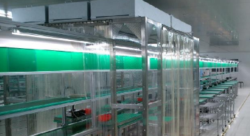 百级铝型材净化棚