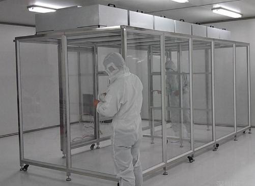 重庆升越达光电铝型材千级洁净棚