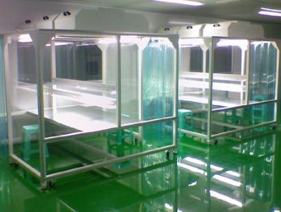 贵州习智科技铝型材洁净工作棚采购安装中